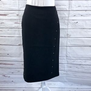 T Tahari Pencil Skirt Black Size 6